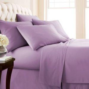Light purple sheets